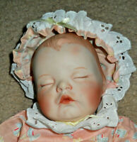 Ashton Drake Doll By Yolanda Bello Rock-a-bye-Baby Christy Lullaby Babies 11""
