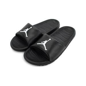 Nike Air Jordan Break Slide Sandals Mens Black White AR6374 010 New - SIZE 9