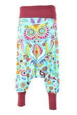 Hippie Pants, Floral Pants, Boho Festival Pants,Casual Printed Pants,  Free size