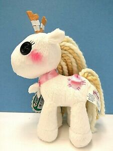 """New with Tag Lalaloopsy Plush White Pony Mallow,  About 7"""" Tall"""