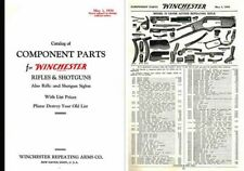 Winchester 1934 Gun Component Parts and Sights Catalog