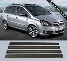 Vauxhall Zafira 'B' (approx 2005 -2014) Stainless Sill Protectors / Kick plates