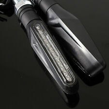 Universal LED Motocicleta Indicadores Señales Giro se ajusta Honda Kawasaki Suzuki