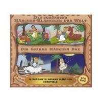 DIE GRIMMS MÄRCHEN BOX-16 BERÜHMTE GRIMMS MÄRCHEN HÖRSPIELE (BOX-SET)  4 CD NEU