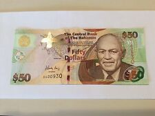 "$50.00 BAHAMAS  2006 ""CRISP"" SERIES P75  #930 BEST PRICE ON EBAY!"
