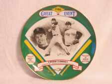 Hackett American Collector Plate Roger Clemens Signature Edition 1986 84/200