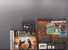 Star Wars 3 la venganza de los Sith Gameboy Advance GBA/DS/