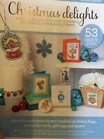 (X2) 53 Festive Bauble Designs For Cards And Gifts Christmas Cross Stitch Chart