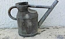 ANCIEN ARROSOIR en ZINC Déco JARDIN plantes fleurs pot vase cottage