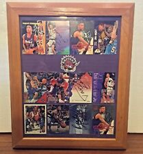 Toronto Raptors Collection of Signed Cards Stoudamire Tabak and Rogers 1995-1997