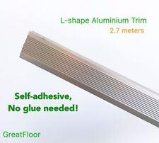 High Quality L-Shape Aluminium Trims Flooring Accessories Edging Champagne