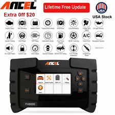 Ancel FX6000 ECU Programming All System SRS Oil Reset TPMS IMMO OBD2 Scanners US