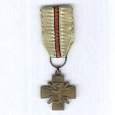 FINLAND. Miniature Kindred Nations War Cross (Heimosotaristi) 1918-1922
