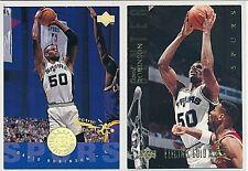 1994 1995 Upper Deck David Robinson 2x Electric GOLD Court Lot Spurs NM #177 168