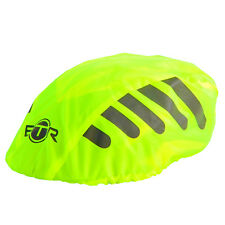 BTR High Visibilty Reflective Waterproof Bicycle Bike Helmet Cover. Yellow