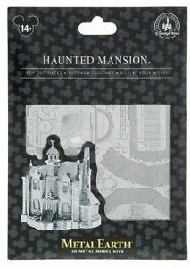 Disney World Parks Haunted Mansion Metal Earth 3D Model Kit  NEW