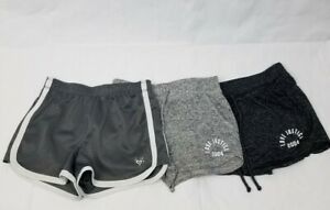 Lot of 3 Justice Love 2004 Shorts Mesh Active Athletic Girls Size 10