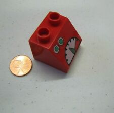Lego Duplo RED FUEL TEMPERATURE PUMP GAUGES GAS PRINTED BLOCK Specialty Piece