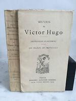 Oeuvres de Victor Hugo Les feuilles d'Automne Alphonse Lemerre