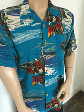 Hawaiian Party Vintage Casual Shirts & Tops for Men