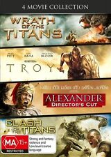 Wrath Of The Titans / Clash Of The Titans / Alexander / Troy DVD : NEW