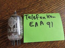 vintage radio tubes EAA91 Telefunken Tests strong
