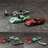 Limited JEC 1:64 Scale Ferrari 250 GTO Racing Car Model Collection Free Doll Toy