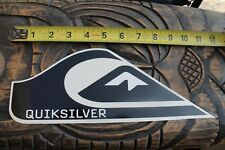 QUIKSILVER Surfboards Black Wave Mountain Logo Clear Retro Surfing STICKER