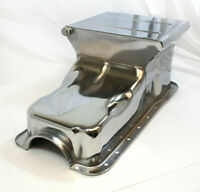 1962-98 SB Ford 260 289 302 V8 Oil Pan Drag Race Deep Extra Capacity Front Sump