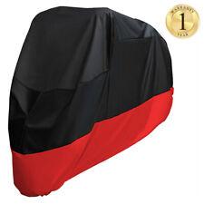 Waterproof Motorcycle Cover XXL Heavy Duty Outdoor Rain UV Protector Gift Black