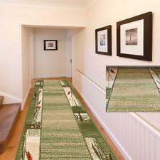 Bestseller Teppichläufer Teppich Läufer Meterware Grün 70 80 und 100 cm Breit
