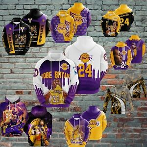 Los Angeles Lakers - hoodie -  Football Hooded Sweatshirt - Jacket Casual Shirt