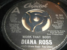"""DIANA ROSS """" WORK THAT BODY """" 7"""" SINGLE CAPITOL 1981 EXCELLENT"""
