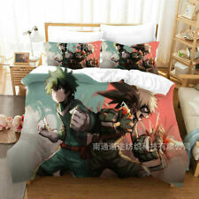 My Hero Academia Duvet Cover 3Pcs Bedding Set Comforter Quilt Cover & Pillowcase