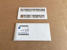 Opel Vectra 1.8 16V Schriftzug Schrift Emblem Zeichen GM 9119022 Embleme 5177179