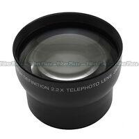62mm 2.2X Magnification Telephoto Tele Converter Lens for Digital Camera 2.2X 62
