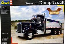 KIT REVELL 1:25 CAMION TRUCKS OF THE 1980S  KENWORTH DUMP TRUCK  07406