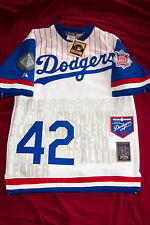 Jackie Robinson Ltd. Tribute Dodgers Jersey Large Numbered 155/1955 Cooperstown
