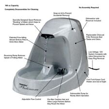 PetSafe Drinkwell Platinum Pet Fountain White - PWW00-13703