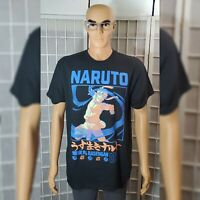 NARUTO SHIPPUDEN ANIME COLLECTION TSHIRTS MEN'S SIZE XL BLACK
