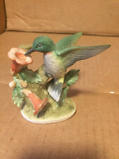 Lefton China Humming Bird Figurine Hand Painted ​ Vintage Kw464