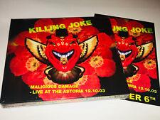 Killing Joke Live At The Astoria CD Digi Pack NEW & SEALED + 2 x Astoria Badges