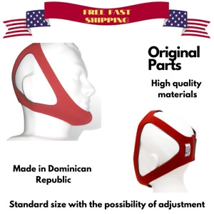 New PureSom Ruby Adjustable Chinstrap for CPAP Therapy Standard Size