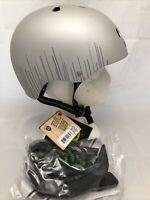 Nutcase Street MIPS Unisex Helmet Matte Silver Wavelength Small Removable Visor