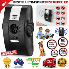 X2 Pestill Ultrasonic Pest Repeller Electronic Insect Rat Mouse Mosquito Control