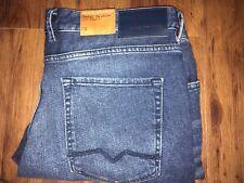 Hugo Boss Orange Slim Fit Orange Barcelona Medium Blue Denim Jeans 39 x 32