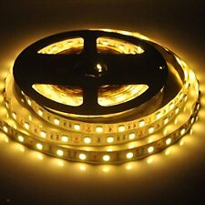 New-Look 16.4' 5M SMD5050 LED Strip Lights 300Leds Non-Waterproof Warm White NEW