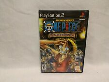 One Piece: Pirates' Carnival (Sony PlayStation 2) - PS2 - Black Label - Complete