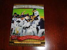 Topps 2010 - Nov 9, 2009 NY Yankees win 27th title