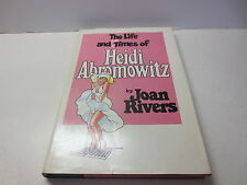 The Life and Hard Times of Heidi Abromowitz by Joan Rivers 1st printing